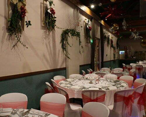 Réception jour de l'an dans la salle des fêtes de Pruniers en Sologne