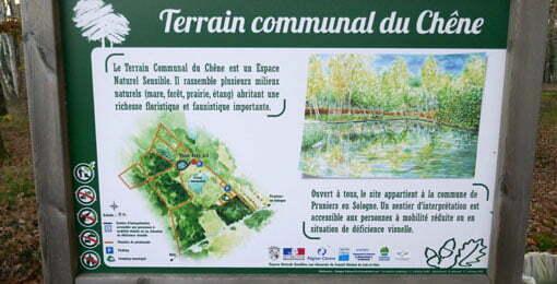 Terrain communal du Chêne